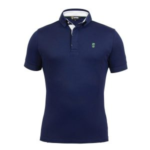 Tredstep Mens Preformance Polo – Navy