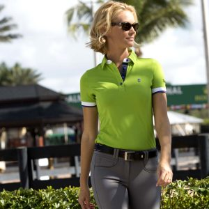 Tredstep Ladies Performance Polo – Lime