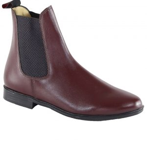 Regent Unisex Junior Steed Jodhpur Boot – Oxblood