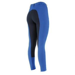 Ladies Shires Wessex Two Tone Jodhpurs – Royal Blue/Navy