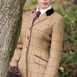 Equetech Ladies Wheatley Tweed Riding Jacket