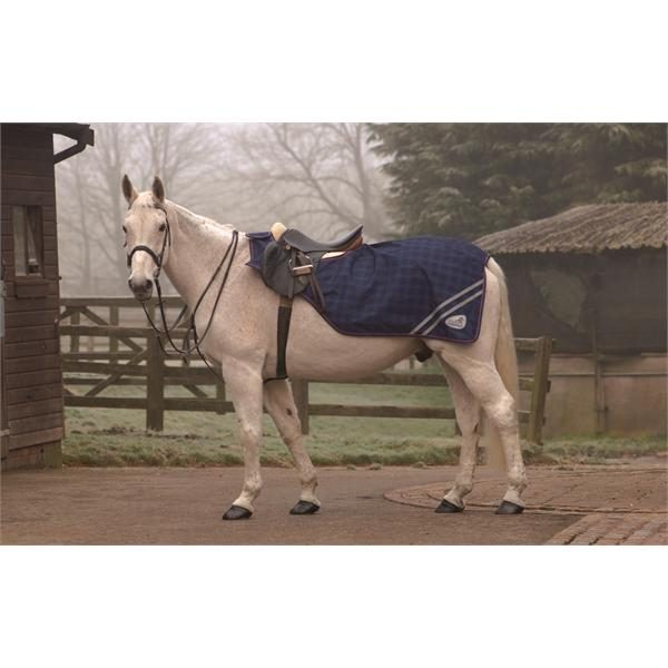 Shires Equi-Flector Waterproof Fleece Lined Reflective Horse Exercise Sheet ALL